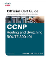 Cover of CCNP Routing and Switching ROUTE 300-101: Official Cert Guide
