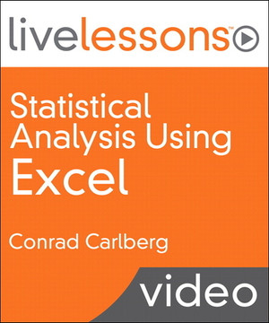 Statistical Analysis Using Excel LiveLessons (Video Training)