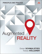 Cover of Augmented Reality: Principles and Practice