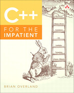 Cover of C++ for the Impatient