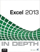 Cover of Excel® 2013 In Depth