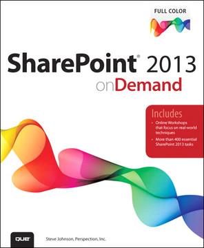 SharePoint® 2013 on Demand