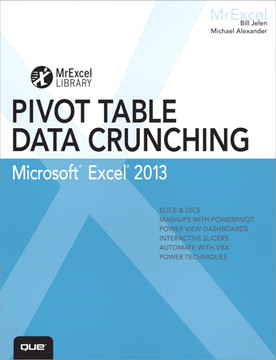 Excel 2013 Pivot Table Data Crunching