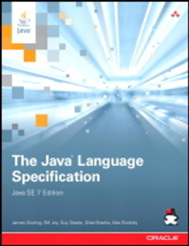 The Java® Language Specification, Java SE 7 Edition, Fourth Edition