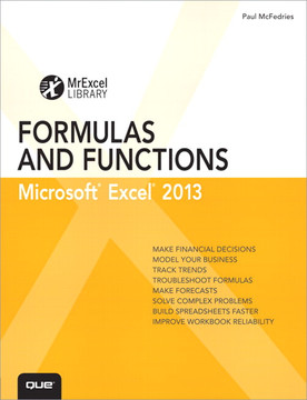 Excel® 2013 Formulas and Functions
