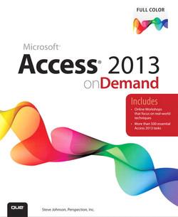 Access® 2013 on Demand