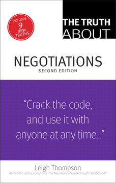 The Truth About Negotiations, Second Edition