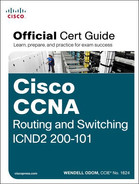 Cover of Cisco CCNA Routing and Switching ICND2 200-101 Official Cert Guide