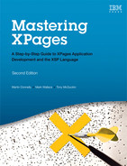 Cover of Mastering XPages: A Step-by-Step Guide to XPages Application Development and the XSP Language, Second Edition
