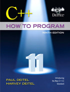 Cover of C++ How to Program, Ninth Edition