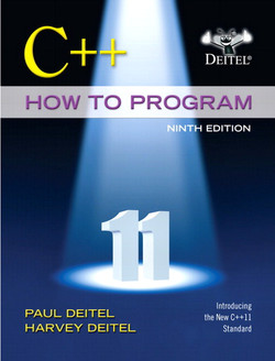 C++ How to Program, Ninth Edition