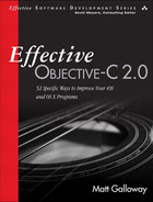 Cover of Effective Objective-C 2.0: 52 Specific Ways to Improve Your iOS and OS X Programs