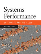 Cover of Systems Performance: Enterprise and the Cloud