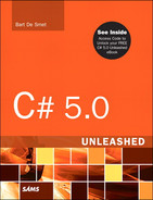 Book cover for C# 5.0 Unleashed
