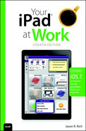 Cover of Your iPad® at Work(covers iOS 7 on iPad Air, iPad 3rd and 4th generation, iPad2, and iPad mini), Fourth Edition