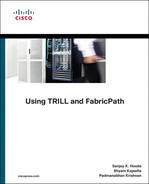 Cover of Using TRILL, FabricPath, and VXLAN: Designing Massively Scalable Data Centers (MSDC) with Overlays