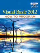 Cover of Visual Basic® 2012 How to Program, Sixth Edition