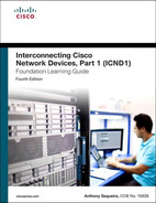 Cover of Interconnecting Cisco Network Devices, Part 1 (ICND1) Foundation Learning Guide, Fourth Edition