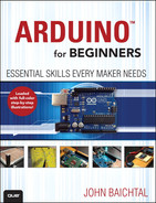 Cover of Arduino for Beginners: Essential Skills Every Maker Needs