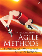 Cover of Introduction to Agile Methods