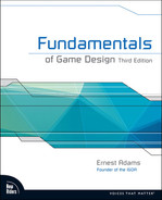 Cover of Fundamentals of Game Design, Third Edition