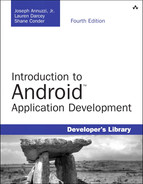 Cover of Introduction to Android™ Application Development: Android Essentials, Fourth Edition