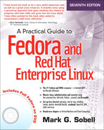 Cover of A Practical Guide to Fedora™ and Red Hat® Enterprise Linux®, Seventh Edition