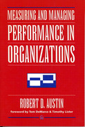 Cover of Measuring and Managing Performance in Organizations
