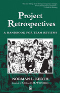 Cover of Project Retrospectives: A Handbook for Team Reviews