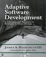 Cover of Adaptive Software Development: A Collaborative Approach to Managing Complex Systems