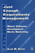 Cover of Just Enough Requirements Management: Where Software Development Meets Marketing