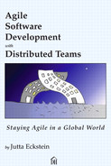 Cover of Agile Software Development with Distributed Teams: Staying Agile in a Global World