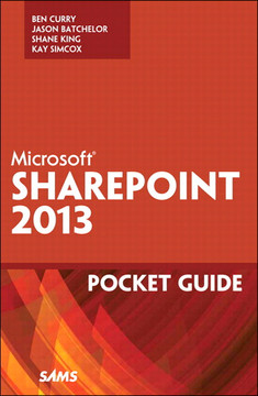 Microsoft® SharePoint® 2013 Pocket Guide