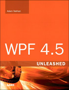 Cover of WPF 4.5 Unleashed