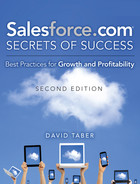 Cover of Salesforce.com Secrets of Success: Best Practices for Growth and Profitability, Second Edition
