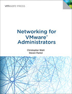 Cover of Networking for VMware Administrators