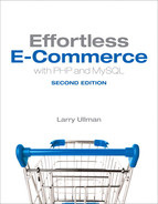 Cover of Effortless E-Commerce with PHP and MySQL, Second Edition