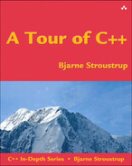 Cover of A Tour of C++