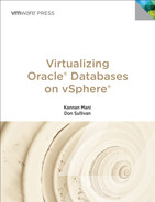 Cover of Virtualizing Oracle® Databases on vSphere®