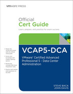 Cover of VCAP5-DCA Official Cert Guide: VMware Certified Advanced Professional 5- Data Center Administration