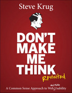 Cover of Don't Make Me Think, Revisited: A Common Sense Approach to Web Usability