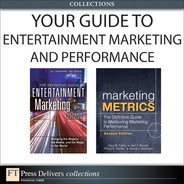 Cover of Your Guide To Entertainment Marketing and Performance (Collection)