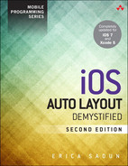 Cover of iOS Auto Layout Demystified, Second Edition