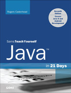 Cover of Sams Teach Yourself Java™ in 21 Days (Covering Java 8), Seventh Edition