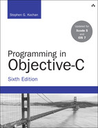 Cover of Programming in Objective-C, Sixth Edition