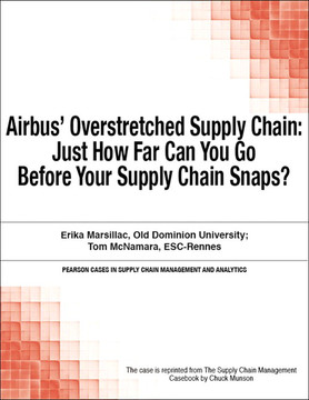 Airbus' Overstretched Supply Chain: Just How Far Can You Go Before Your Supply Chain Snaps?