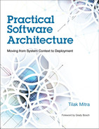 Cover of Practical Software Architecture: Moving from System Context to Deployment