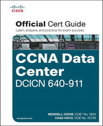 Cover of CCNA Data Center DCICN 640-911 Official Cert Guide