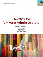 Cover of DevOps for VMware Administrators