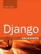Book cover for Django Unleashed